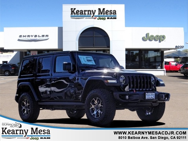 Jeep San Diego >> New 2019 Jeep Wrangler Unlimited Rubicon 4x4