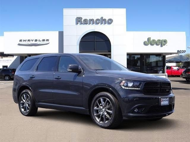 new 2018 dodge durango gt sport utility in san diego jc100950 rancho chrysler jeep dodge ram. Black Bedroom Furniture Sets. Home Design Ideas