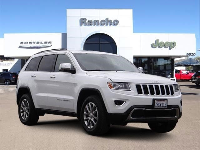 Pre Owned 2015 Jeep Grand Cherokee Limited, Good Tires, Perform Lube, Oil