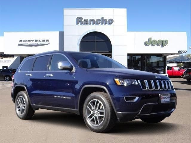 new 2018 jeep grand cherokee limited sport utility in san diego jc205080 rancho chrysler jeep. Black Bedroom Furniture Sets. Home Design Ideas