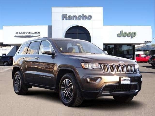 New 2019 Jeep Grand Cherokee Limited Sport Utility In San Diego