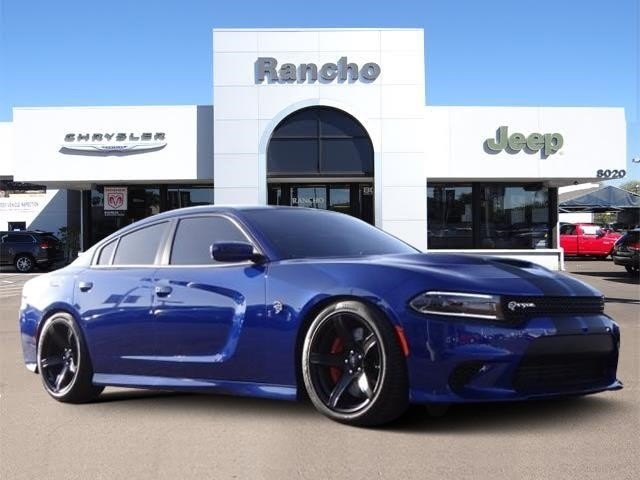 Dodge Challenger Hellcat For Sale >> New 2018 DODGE Charger SRT Hellcat Sedan in San Diego #JH237318 | Rancho Chrysler Jeep Dodge Ram