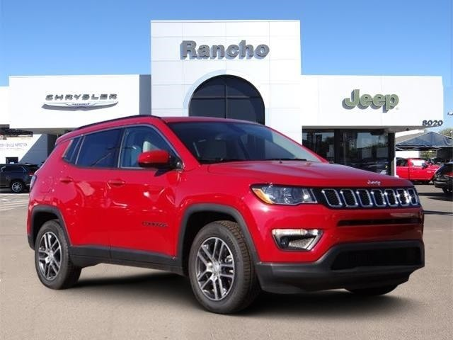 New 2019 Jeep Compass Latitude Sport Utility In San Diego Kt636284