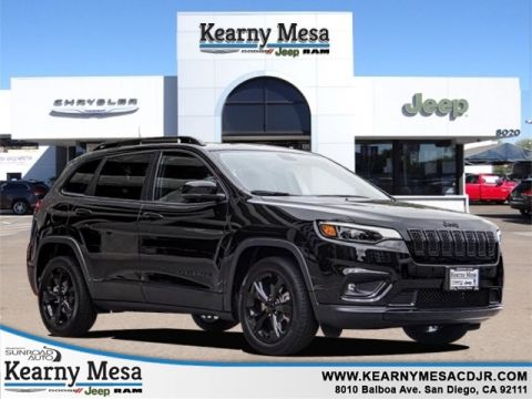 New 2019 JEEP Cherokee Altitude Sport Utility in San Diego